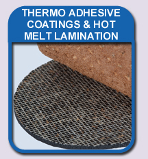 thermo adhesive coatings & hot melt lamination